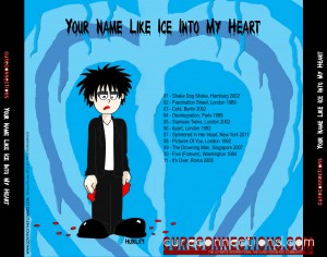 Back Cover for CureConnections Valentine CD compilation 2012