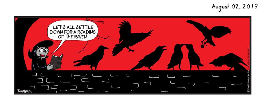 A Raven Reading (08022017)